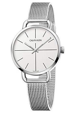 Calvin Klein Unisex analoog digitaal kwartshorloge voor volwassenen met roestvrij stalen armband K7B23126