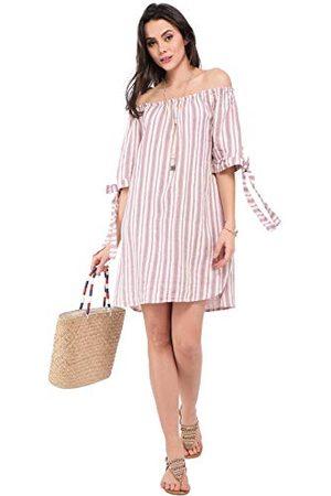 Bonamaison Halverwege de lengte jurk met bandjes en rug opening casual