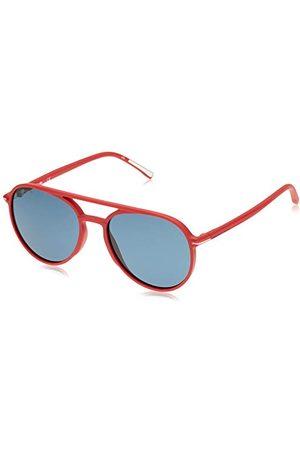 Lacoste Eyewear uniseks rode zonnebril voor heren, , Eén maat
