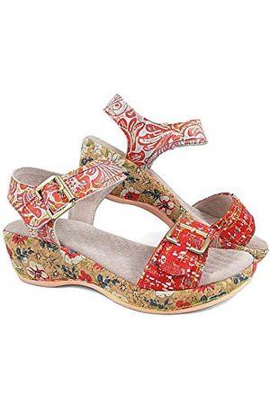 LAURA VITA 0002518, open sandalen met sleehak Dames 42 EU