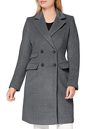MERAKI Amazon-merk - dameswollen jas, (houtskool),18