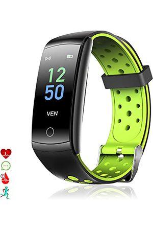 DAM Q8T Smart-armband met lichaamstemperatuur, multi-sportarmband, hartslagmonitor, bloeddruk