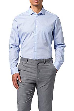 Seidensticker Poplin overhemd voor heren, regular fit, lange mouwen.