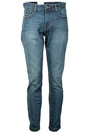 Izod Heren Saltwater Denim Medium Wash Straight Jeans