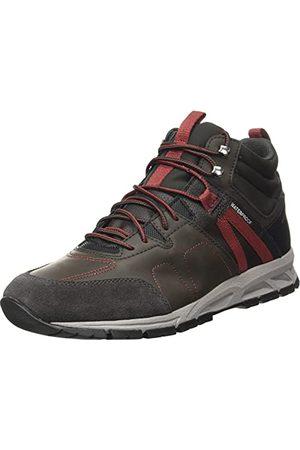 Geox Heren U Delray B Wpf B Sneakers, Dk Coffee, 42 EU