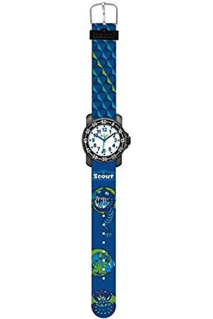 Scout Jongens-analoog kwartshorloge met stoffen armband 280376015