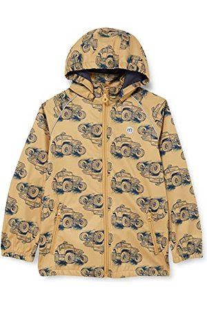 Minymo Softshelljas voor jongens met print shell jas.