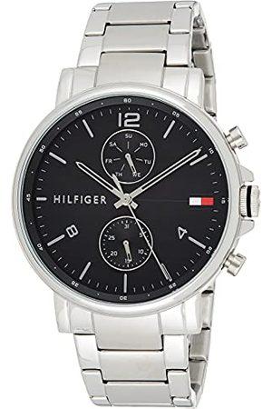 Tommy Hilfiger Analoog Quartz Horloge voor heren met RVS Band 1710413