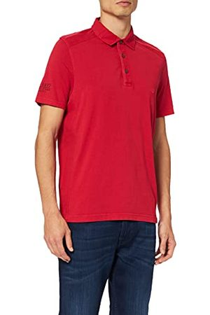 Camel Active H-Polos 4094613P09 Poloshirt voor heren, (Red Core P09), L