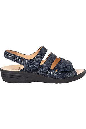 Ganter Dames Hera H-Dreiklettsandale sandaal, marineblauw, 37 EU
