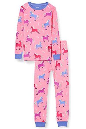 Hatley Meisjespyjama met lange mouwen van biologisch katoen