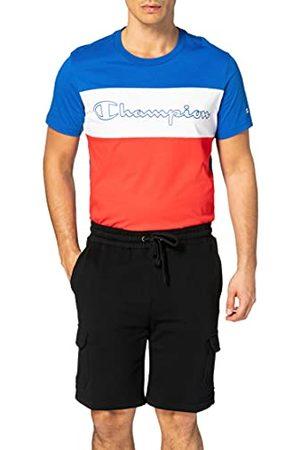 Urban classics Herenshorts van biologisch katoen, organisch katoen, cargo-sweatshorts, korte joggingbroek met cargozakken voor mannen, in 2 kleuren, maten S - 5XL