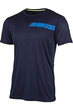 Dunlop Heren 71331-S Club Line Crew T-Shirt, Navy, S