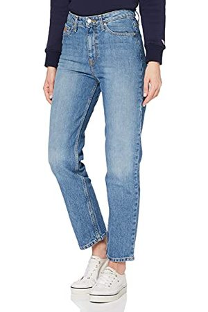 Tommy Hilfiger Dames Th Ess Classic Straight Hw C Ela Jeans