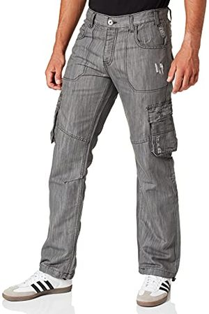 Enzo Heren Loose Fit Jeans