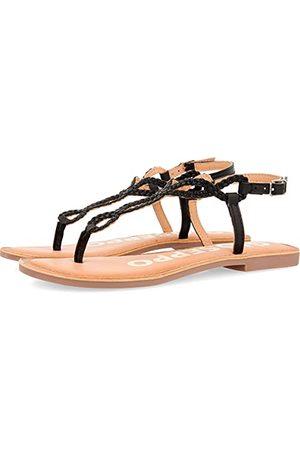 Gioseppo Dames Fyffe Open Toe Sandalen, (Negro Negro), 5 UK