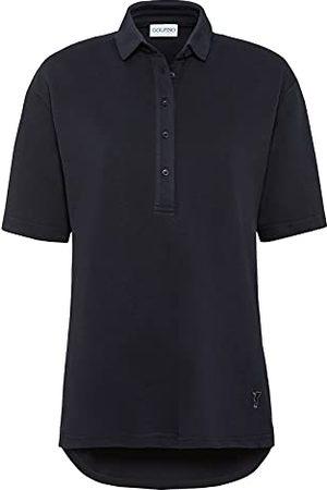 Golfino Dames 6337022 580 42 polohemd, marineblauw, verpakking van 2 stuks