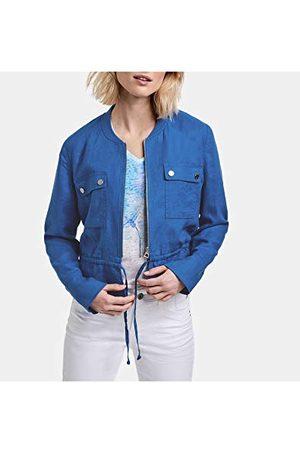 Taifun Damesjas jeans + stoffen denim jas.