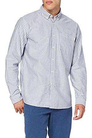 HKT BY HACKETT Hkt Oxford Wide STR vrijetijdshemd voor heren - multi - XXX-Large