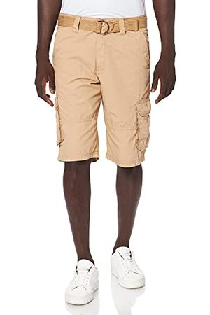 Southpole Heren Cargo Shorts Belted Ripstop