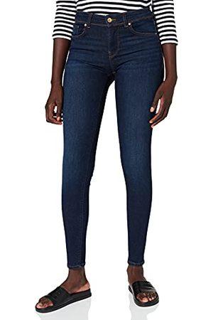 VERO MODA VMLUX MR Slim RI347 GA NOOS Jeans, Dark Blue Denim, S/32