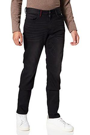 HKT BY HACKETT Hkt Core Black Denim Straight Jeans