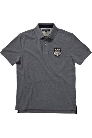 Tommy Hilfiger ARNOLD POLO S/S RF/887820509 poloshirt voor heren, (043 Silver Fog Htr), 52 NL