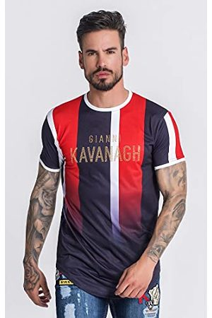 Gianni Kavanagh Formentera Faded Striped T-shirt voor heren