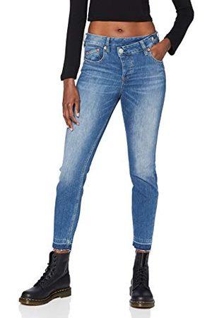 Herrlicher Prachtige dames Maze Slim Cropped Denim Cashmere Touch Jeans