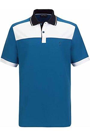 Golfino Heren 6330712 558 56 polohemd, golf (verpakking van 2)