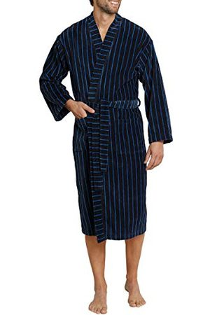 Schiesser Badjas voor heren, (donkerblauw 803), 52