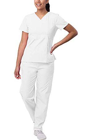 Sivvan Vrouwen S8401whtxl Medische Scrubs, , XL UK