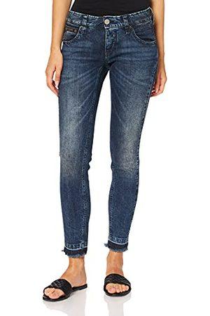 Herrlicher Dames Touch Cropped Slim Jeans, (Open Up 766), 28W