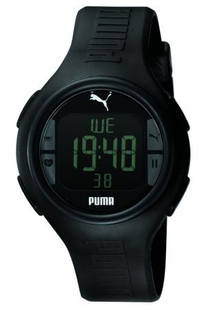 PUMA Time herenhorloge XL Pulse Black Digital Quarz plastic PU910541001