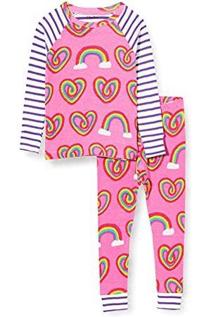 Hatley Meisje biologisch katoen Raglan lange mouw bedrukte pyjama set pyjama