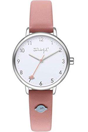 Mr.Wonderful Horloge MR Wonderful Fun Oclock - Pink