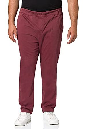 7 for all Mankind Heren Jogger Chino Luxe Performance Sateen Burgundy Broek