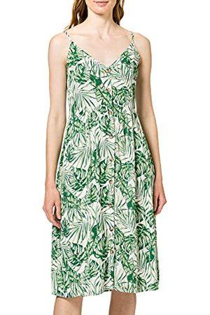 VILA Dames Visanne S/L Midi Dress/Su jurk