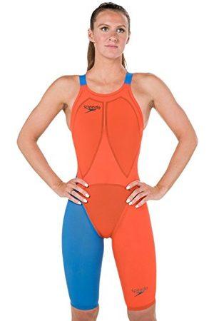 Speedo LZR Racer Elite 2 Openback Kneesuit One Piece Zwempak, oranje/ , 26 dames
