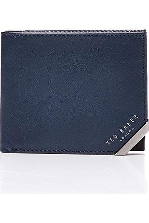 Ted Baker Heren KORNING Travel Accessoire- Bi-Fold Wallet, NAVY, One Size