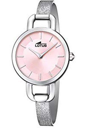 Lotus Dames analoog kwarts horloge met lederen armband 18746/2