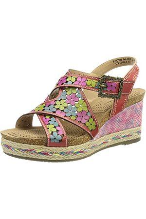 LAURA VITA 0002528, open sandalen met sleehak Dames 40 EU