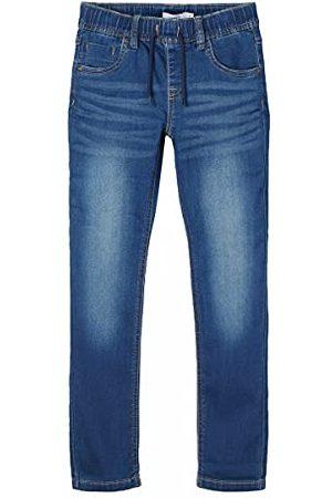 NAME IT Jongens Jeans, donkerblauw (dark blue denim), 146 cm
