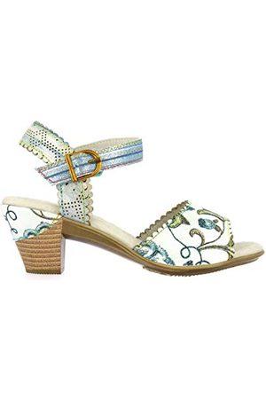 LAURA VITA 0002597, open sandalen met sleehak Dames 38 EU