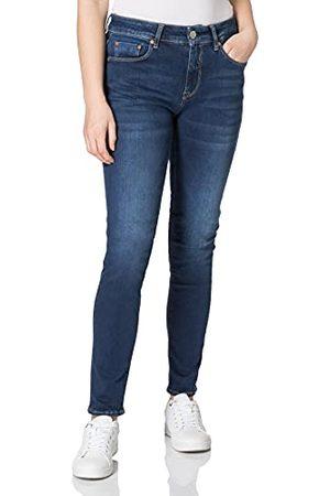Herrlicher Prachtige dames Super G Slim Reused Denim jeans