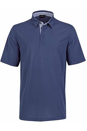 Golfino Dames 6336011 567 48 polohemd, blauwe rook, (verpakking van 2)