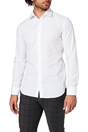 Seidensticker Zakelijk strijkvrij overhemd voor heren, met zeer smalle snit, X-slim fit, lange mouwen, Kent-kraag, ( 01), 36 NL