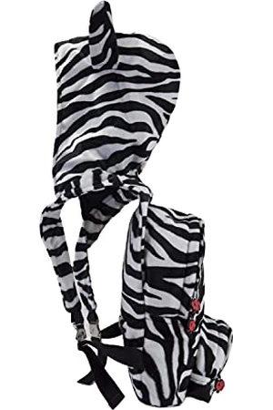 Morikukko Unisex-Adult Rugzak met capuchon Zebra Feather Rugzak Multi kleuren (Zebra Feather)