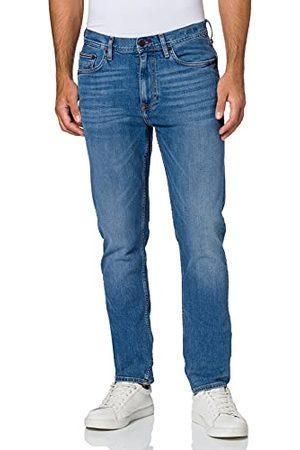 Tommy Hilfiger Tapered Fit STR AIKEN Blue Straight Jeans voor heren