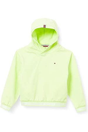 Tommy Hilfiger Meisjes Logo Rib Hoodie Sweater
